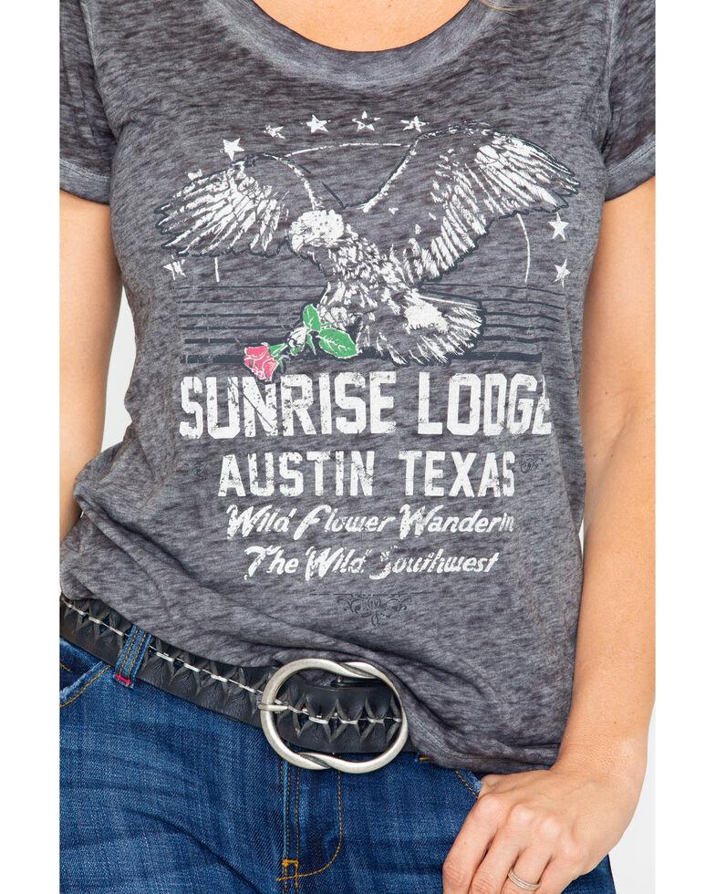 Idyllwind Women's Sunrise Lodge Trustie Tee, Black, hi-res