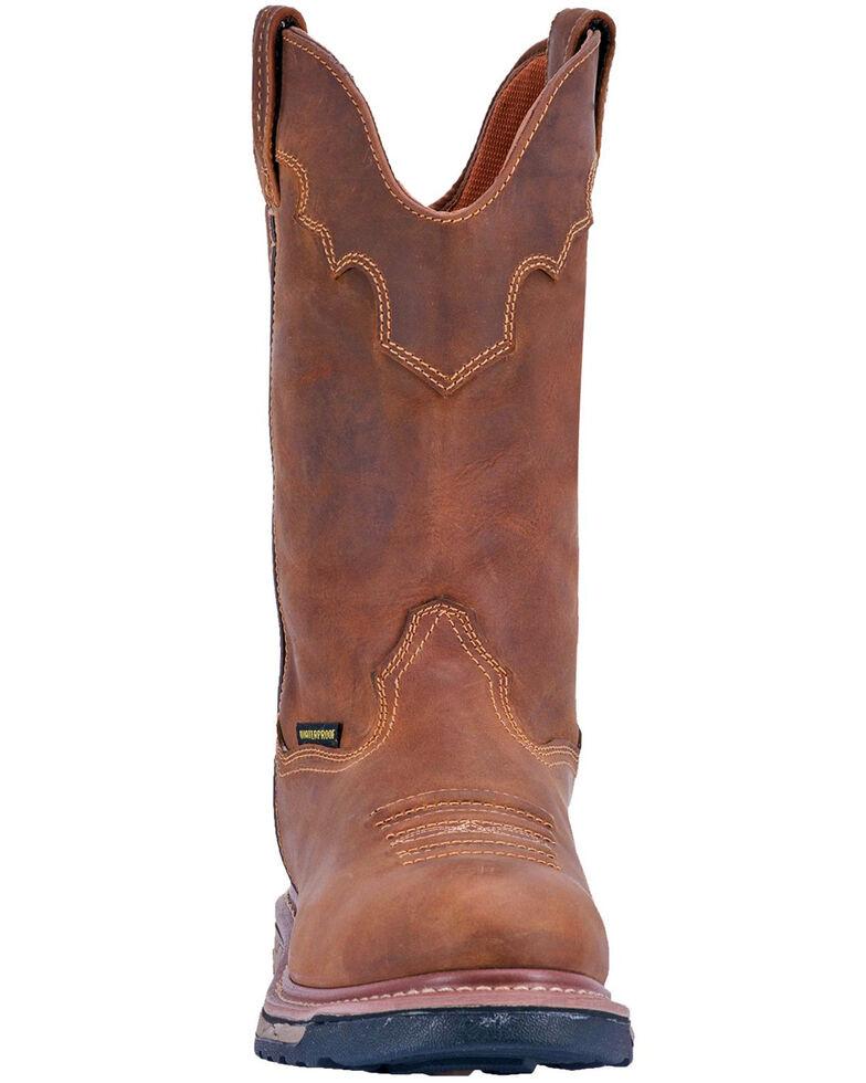 Dan Post Men's Journeyman Waterproof Western Work Boots - Composite Toe, Brown, hi-res