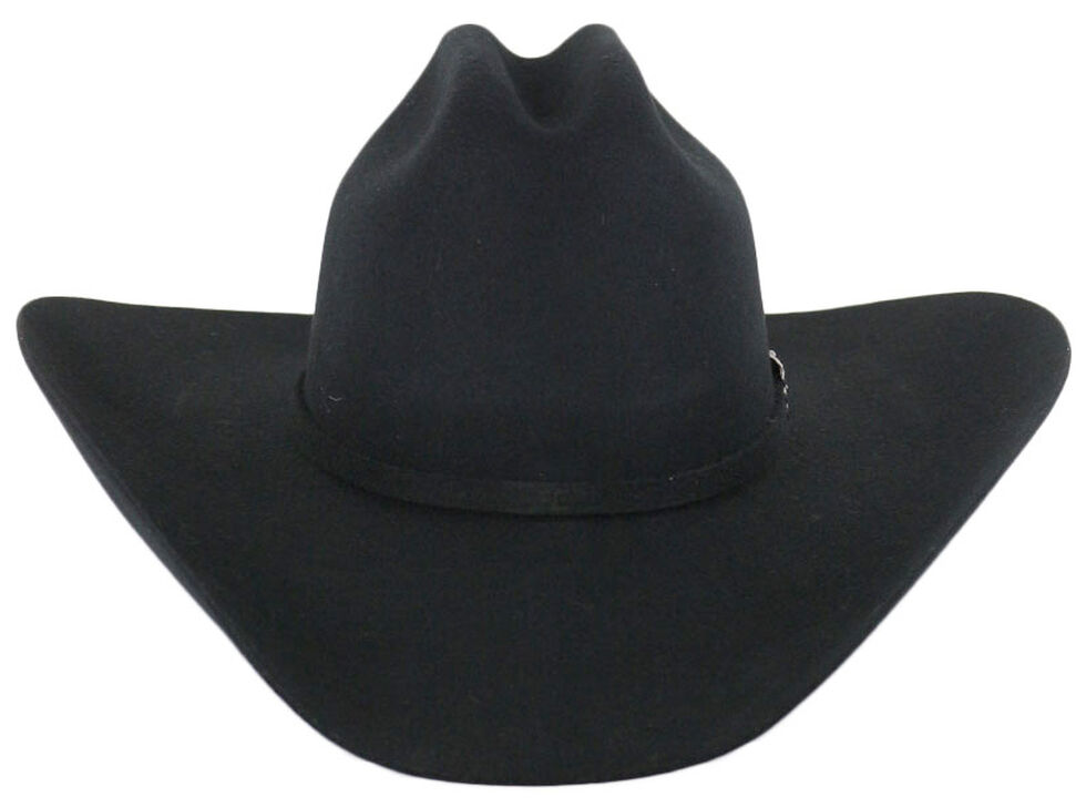 Cody James Denton 3X Pro Rodeo Wool Felt Cowboy Hat, Black, hi-res