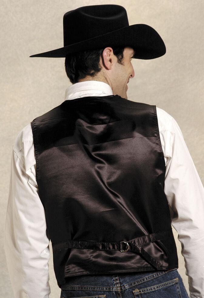 Roper Tan Suede Buckle Tie Vest, Cognac, hi-res