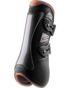 Veredus Baloubet Pro Classic Open Front Black Brown Boots, Multi, hi-res