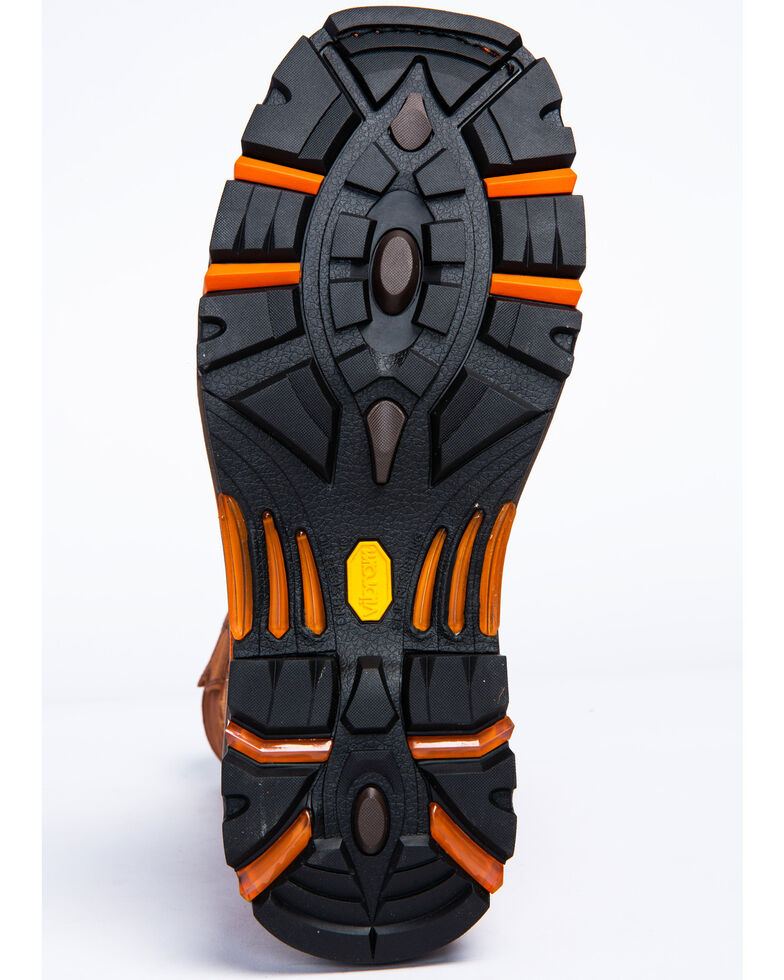 Cody James Men's Decimator Top Standard Western Work Boots - Wide Square Toe, Brown, hi-res