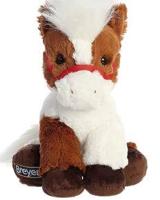 "Breyer Kids' 11"" Multicolored Stuffed Horse, Brown, hi-res"