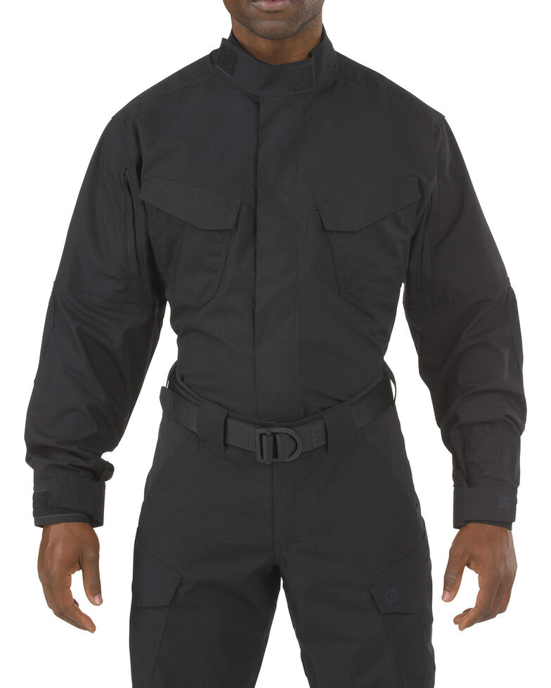 5.11 Tactical Stryke TDU Long Sleeve Shirt, Black, hi-res