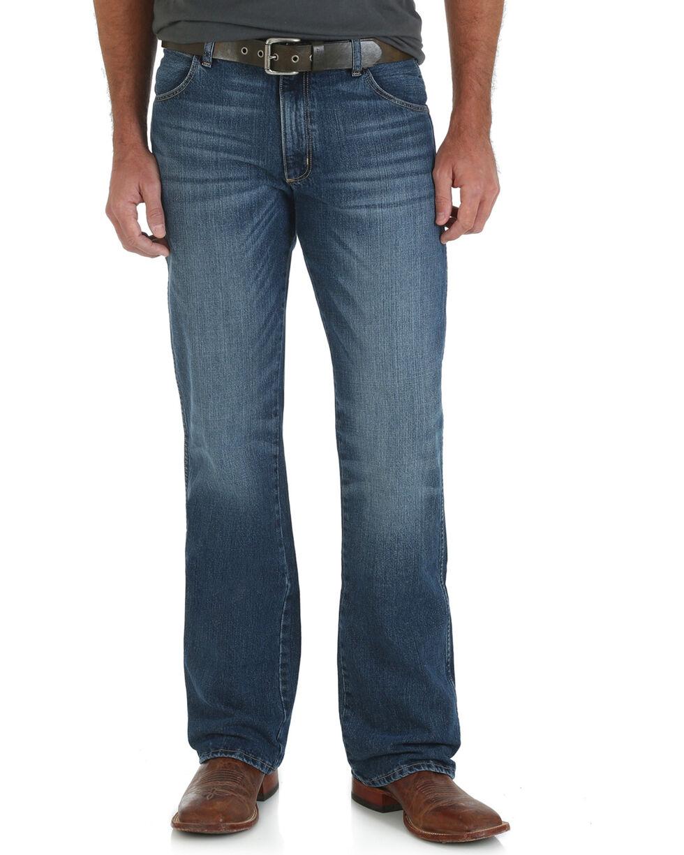 Wrangler Retro Men's Scottsdale Slim Fit Jeans - Boot Cut, Indigo, hi-res