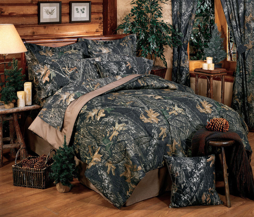 Mossy Oak New Break Up Twin Comforter Set, Camouflage, hi-res
