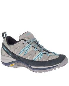 Merrell Women's Siren Sport 3 Hiking Shoes - Soft Toe, Grey, hi-res