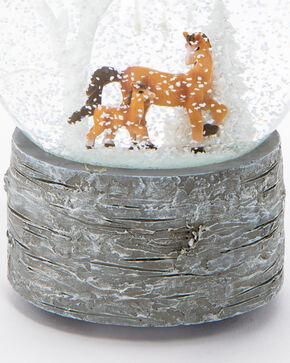 BB Ranch White Birch Musical Snow Globe, White, hi-res