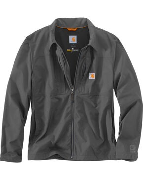 Carhartt Men's Charcoal Full Swing Briscoe Jacket, Charcoal, hi-res