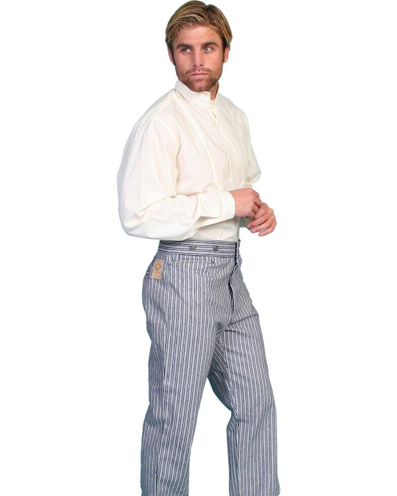 Scully Rail Striped Pants - Big & Tall, Black, hi-res