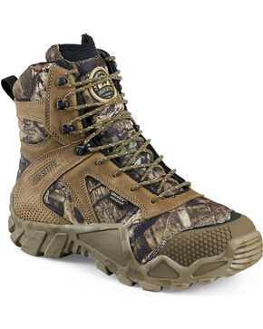 "Red Wing Irish Setter Mossy Oak Vaprtrek Insulated Waterproof 8"" Boots , Camouflage, hi-res"