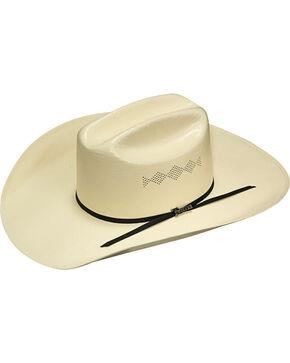 Twister Men's Ivory 8X Shantung Diamond Vent Hat , Ivory, hi-res