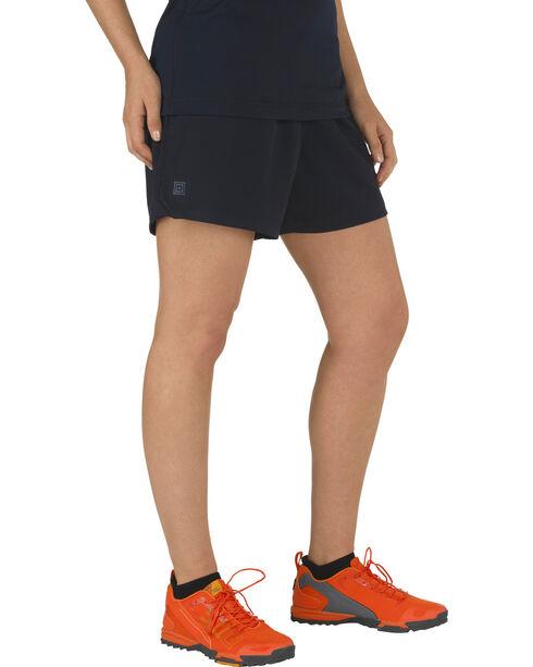 5.11 Tactical Women's Utility PT Shorts, Navy, hi-res