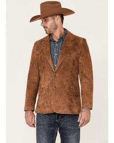 Cody James Men's Brown Blazer , Brown, hi-res