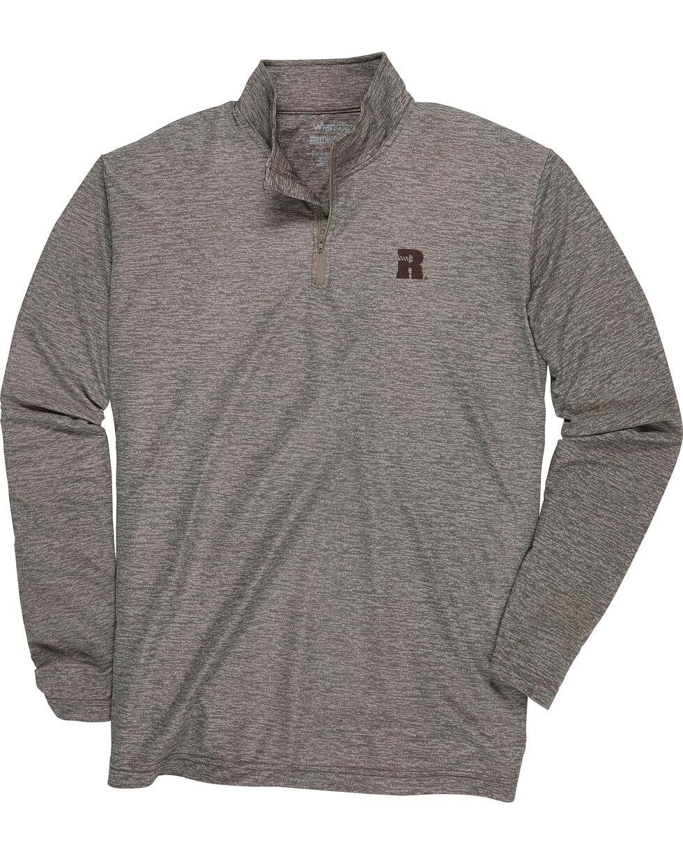 Wrangler Men's Tan RIGGS WORKWEAR® 1/4 Zip Pullover, , hi-res