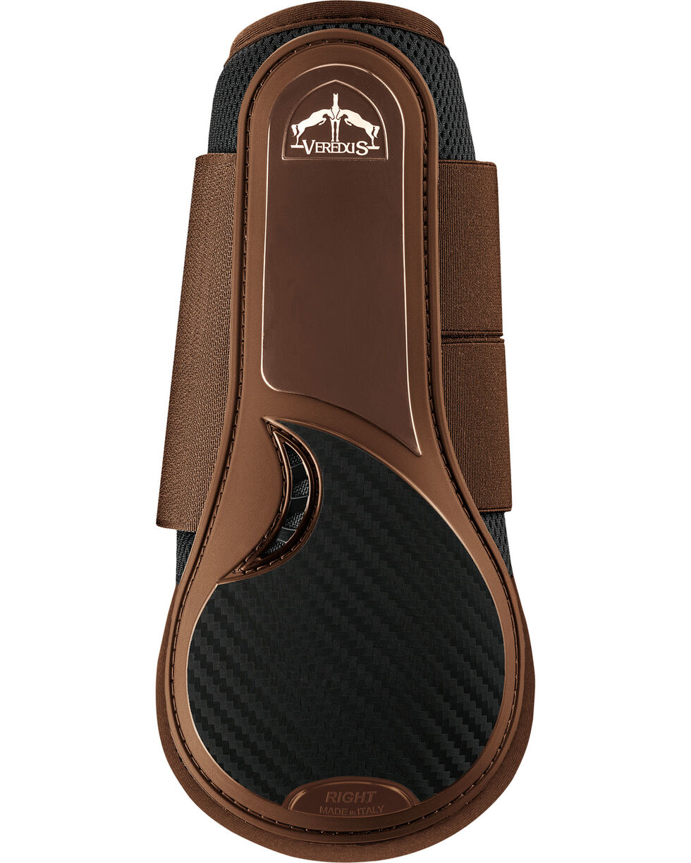 Veredus TRC Vento Front Split Boot, Brown, hi-res