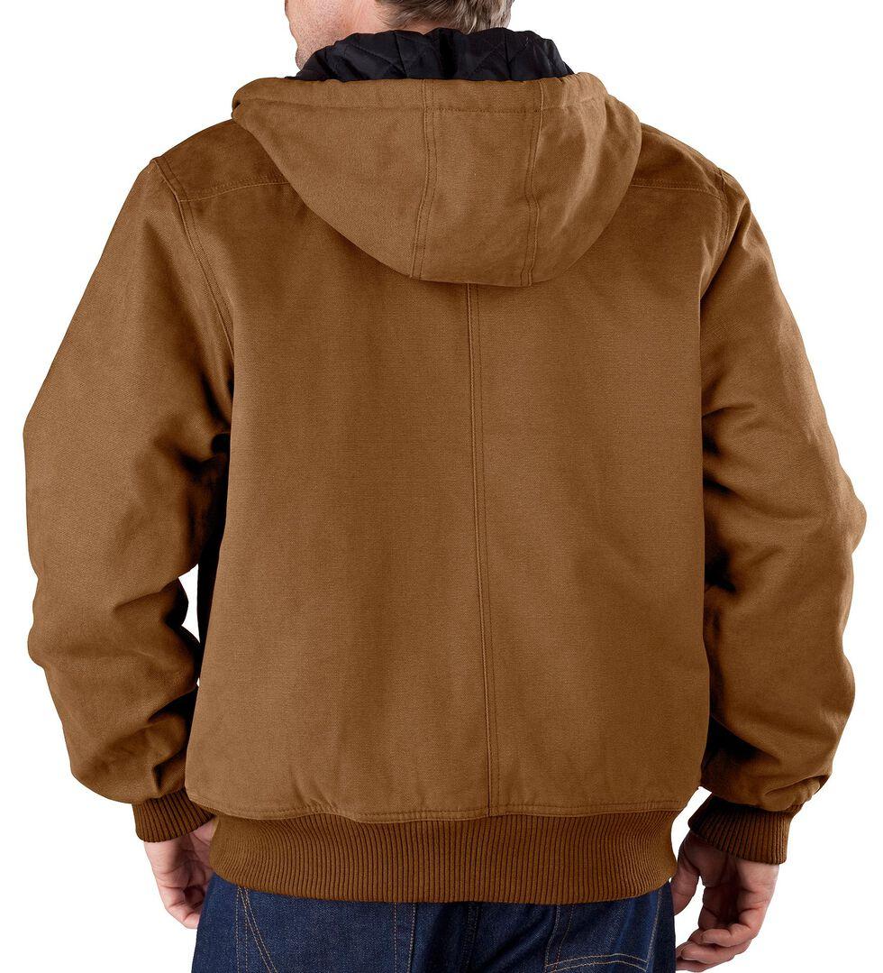 Dickies Sanded Duck Hooded Jacket - Big & Tall, Brown Duck, hi-res