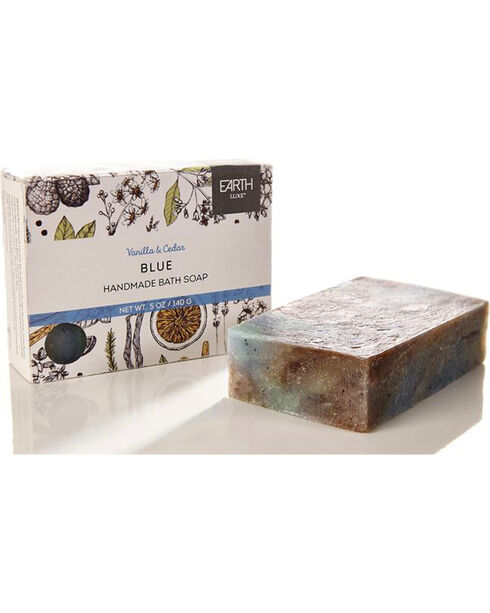 Earth Luxe Blue Nearly Natural Bath Soap, No Color, hi-res