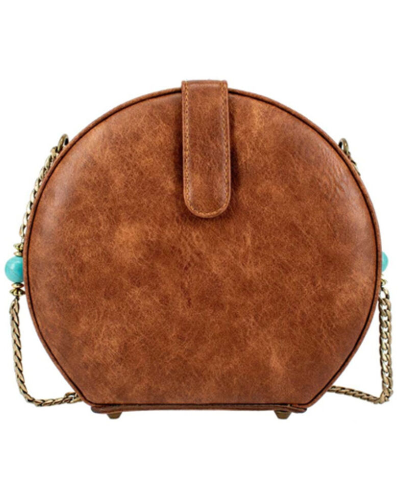 Mary Frances Women's Bejeweled Crossbody, Turquoise, hi-res