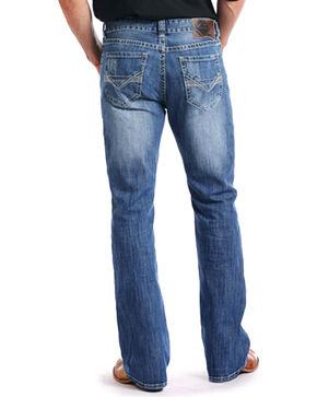 Rock & Roll Cowboy Men's Reflex Double Barrel Jeans - Boot Cut , Indigo, hi-res