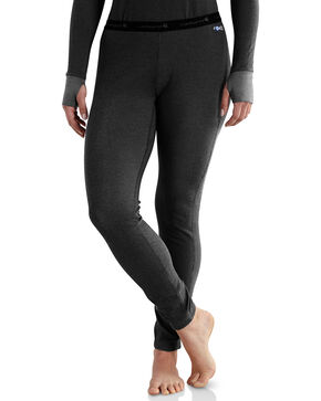 Carhartt Women's Base Force Cold Weather Bottoms, Black, hi-res