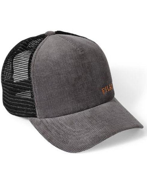 Filson Men's Slate Alcan Cord Mesh Hat , Slate, hi-res