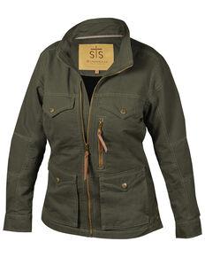 STS Ranchwear Women's Loden Sundance Twill Jacket, Loden, hi-res