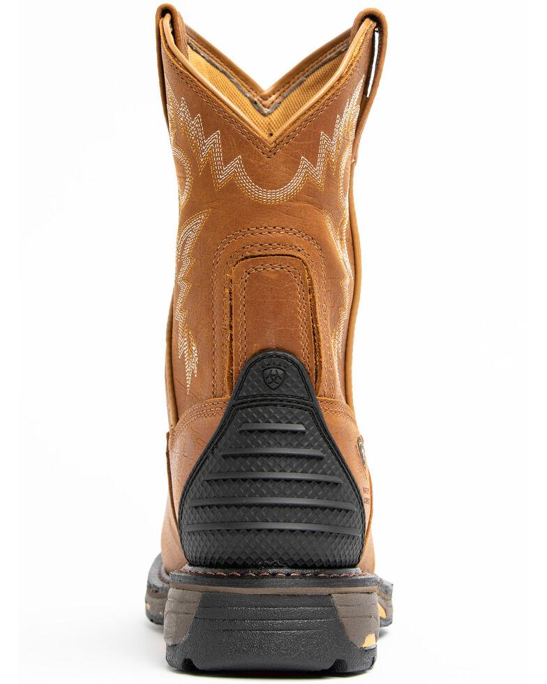 Ariat Men's H20 Workhog Western Work Boots - Composite Toe, Bark, hi-res