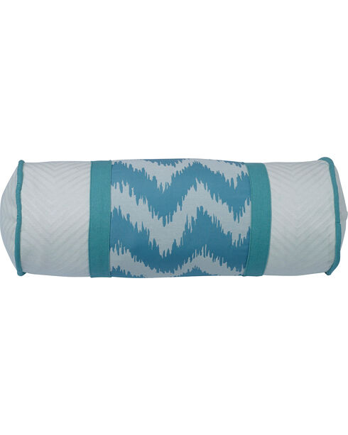 HiEnd Accents Chevron Oblong Pillow, Multi, hi-res