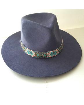 Physician Endorsed Women's Grey Southwestern Hat, Grey, hi-res