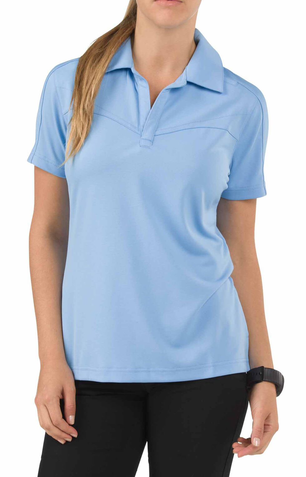 5.11 Tactical Women's Trinity Polo Shirt, Blue, hi-res