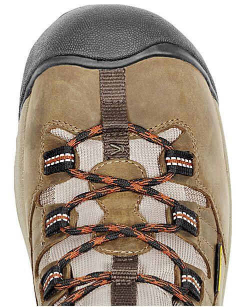 Keen Men's Detroit Mid Boots , Olive, hi-res