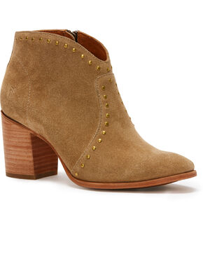 Frye Women's Sand Nora Booties - Pointed Toe , Sand, hi-res
