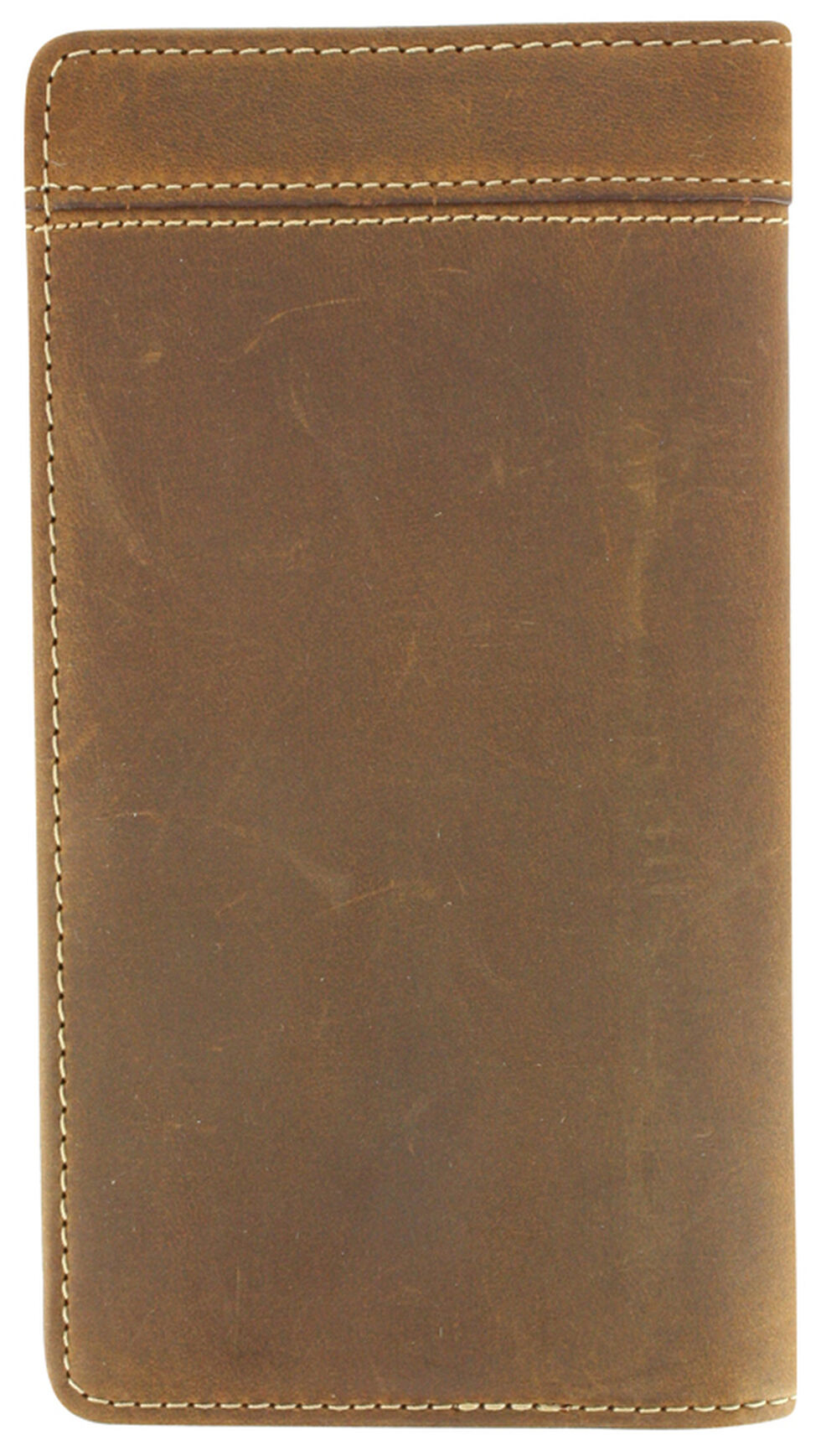 Cody James Men's Wallet and Checkbook Cover, Brown, hi-res