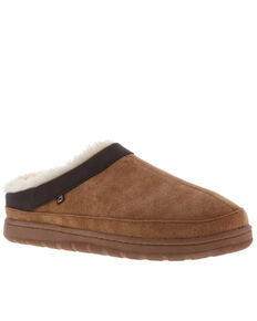 Lamo Men's Julian Clog Slippers - Round Toe, Chestnut, hi-res