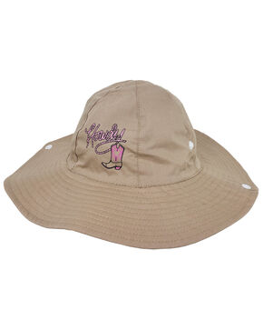 Peter Grimm Girls' Pink Howdy Bucket Hat, Beige/khaki, hi-res
