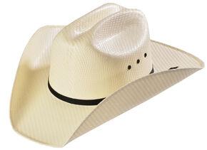 M&F Western Kids' Natural Sancho Straw Cowboy Hat, Natural, hi-res