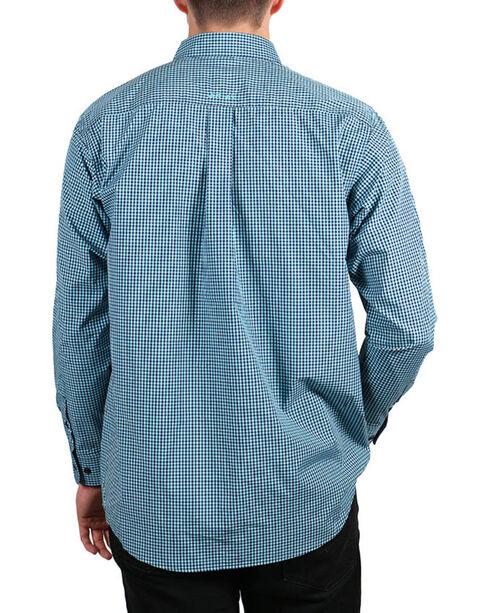 Ariat Men's Blue Nafferton Plaid Long Sleeve Shirt , Multi, hi-res