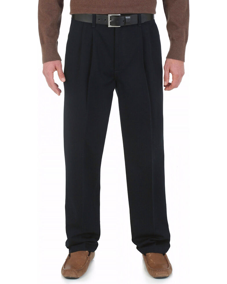 Wrangler Rugged Wear Performance Casual Pants - Big, Black, hi-res