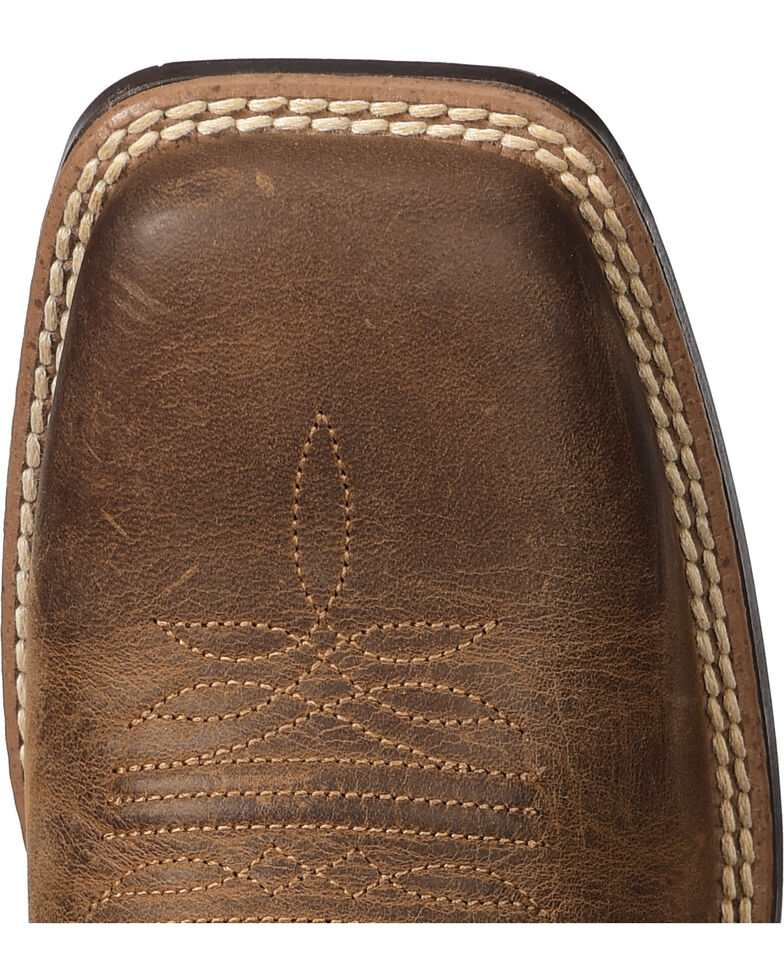 Ariat Women's VentTEK Ultra Quickdraw Cowgirl Boots - Square Toe, Chocolate, hi-res