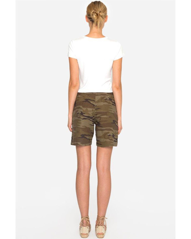 camouflage shorts women's