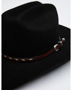 Austin Accent Leather Horsehair Insert Hat Band, Brown, hi-res