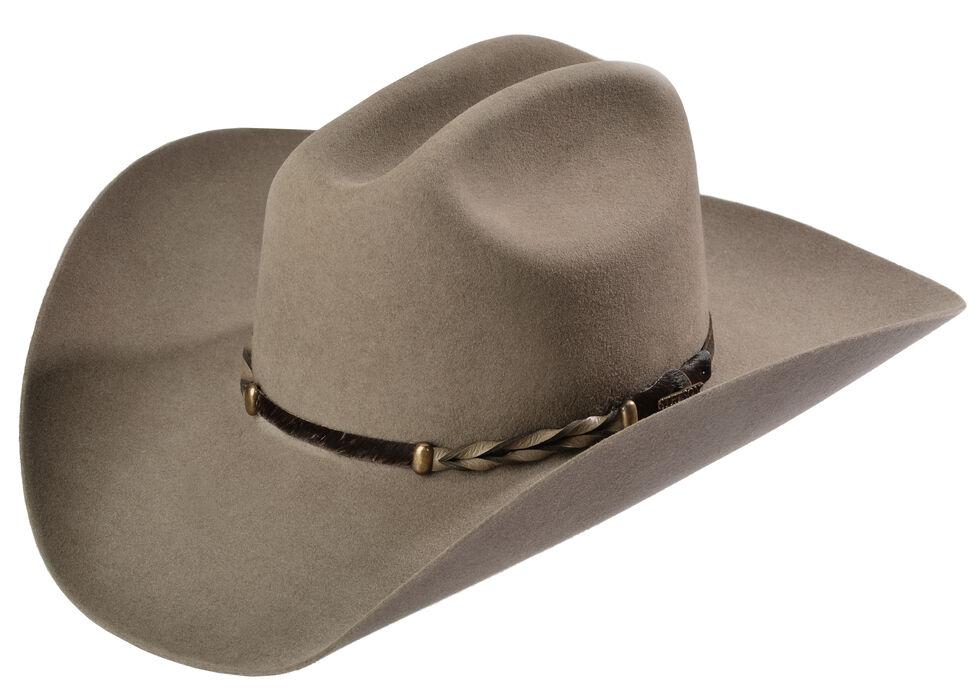 Stetson Stone Portage 4X Buffalo Felt Cowboy Hat  c161de44f43