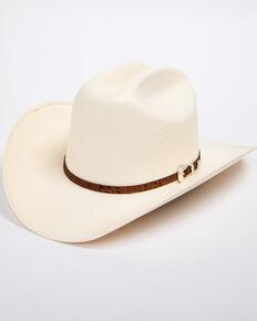 e6cec1d16fb64e Cody James Mens Panama Faux Gator Cognac Marlboro Cowboy Hat, Natural,  hi-res