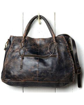 Bed Stu Women's Rockaway Black Lux Handbag, Black, hi-res