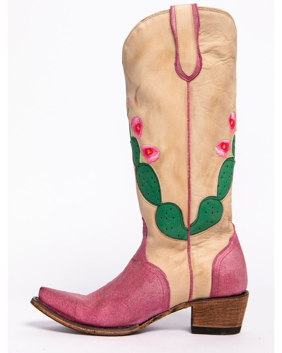 Junk Gypsy by Lane Women's Hard to Handle Boots - Snip Toe, Ivory, hi-res