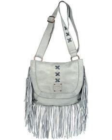 STS Ranchwear Women's Daydreamer Crossbody Bag, Grey, hi-res