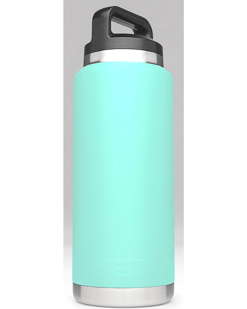 Yeti Seafoam 36 oz. Bottle Rambler , Aqua, hi-res