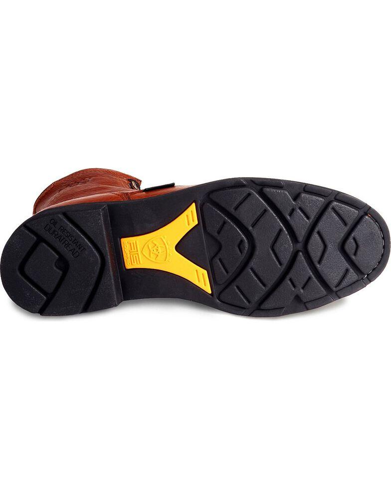 "Ariat Cascade 8"" Lace-Up Work Boots, Bronze, hi-res"
