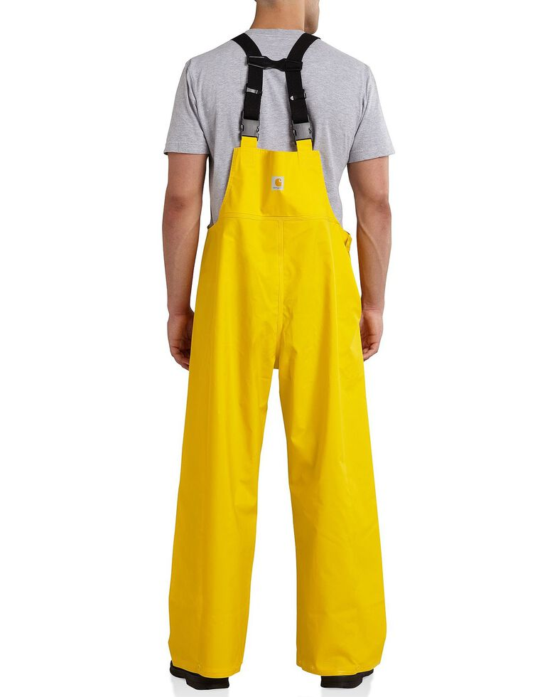 Carhartt Mayne Waterproof Bib Overalls, Yellow, hi-res
